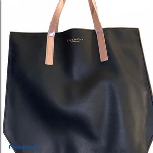 Givenchy Black Tote - Rose Gold Strap